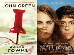 """""""Paper Towns"""" by John Green"""