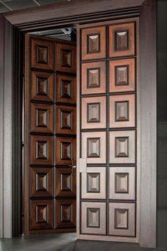 Unique 50 Modern And Classic Wooden Main Door Design Ideas - Engineering Discove. Single Door Design, Home Door Design, Double Door Design, Door Design Interior, Exterior Design, House Main Door Design, Main Entrance Door Design, Wooden Main Door Design, Main Gate Design