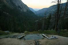 Iva Bell Hot Springs.  27mi round trip backpacking quest