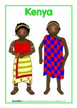 Traditional clothes around the world posters - SparkleBox Around The World Crafts For Kids, Around The World Theme, Around The Worlds, Traditional Dresses For Kids, Traditional Outfits, Nigerian Culture, African Culture, Harmony Day Activities, Cultures Du Monde