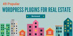 49 Popular WordPress Plugins For Real Estate - Reviewed