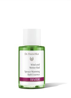 What's better than having a bath after a busy week? Dr. Hauschka Spruce Warming Bath Essence soothes and invigorates while the fresh evergreen scent encourages deep, cleansing breaths. This bath essence offers warmth and comfort during the cooler months and in times of stress or exhaustion.