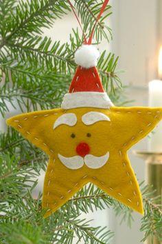 47 12 Pynt til juletræet - Stjernenisse