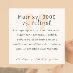 In need of anti-ageing for sensitive skin? Can't use retinol? Or worse, have retinoids made your skin dry and irritated? While retinol can feel like the only anti-ageing ingredient ever talked about - there are newer, kinder to skin alternatives. Beauty Care, Beauty Skin, Diy Beauty, Beauty Hacks, Beauty Women, Skin Tips, Skin Care Tips, Anti Aging Skin Care, Natural Skin Care