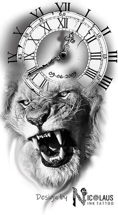 Lion time – Tattoos – Lion time – Tattoos – This image has get.