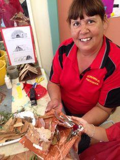 Making a humpy Aboriginal Art For Kids, Aboriginal Education, Indigenous Education, Aboriginal History, Aboriginal Culture, Sensory Activities, Educational Activities, Learning Activities, Activities For Kids