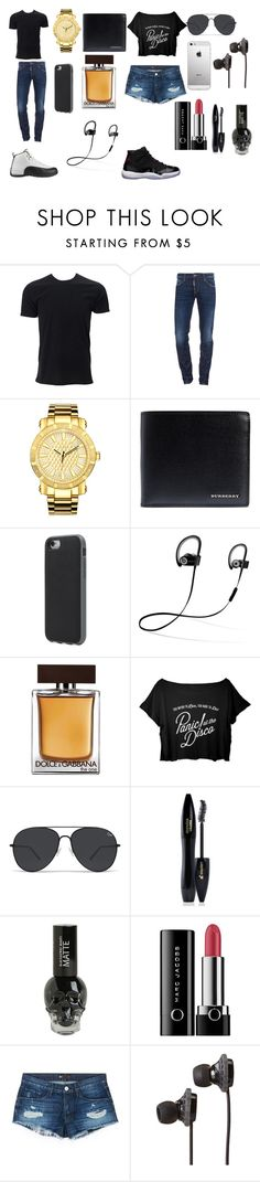 """When Ya Girl Try'in To Match You"" by breezybrebre on Polyvore featuring beauty, Dsquared2, JBW, Burberry, Incase, Beats by Dr. Dre, Dolce&Gabbana, Freaker, Lancôme and Marc Jacobs"
