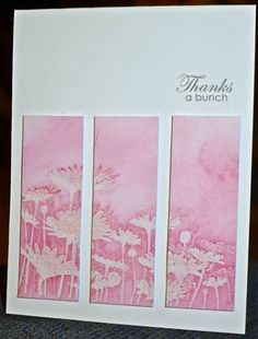 CC363  Thanks a Bunch by hskelly - Cards and Paper Crafts at Splitcoaststampers