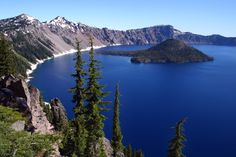 Oregon - Crater Lake. 50 states, 50 spots: Natural wonders - CNN.com - Just 70 miles from where I live it is SUCH a wonder!
