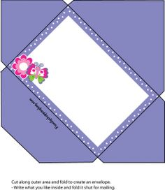 Butterfly Envelope Invitations