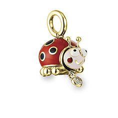3D Ladybug Charm