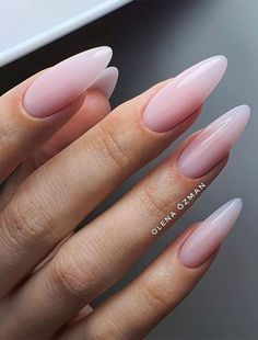Nail Art Designs, Pretty Nail Art, Beautiful Nail Designs, White Nail Polish, White Nails, Almond Shape Nails, Nail Time, Minimalist Nails, Best Acrylic Nails