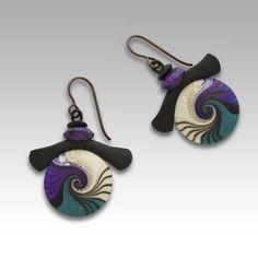 Plum Aiko Earrings