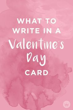 What to Write in a Valentine's Day Card | Whether you're signing a valentine for friends, family, or that special someone in your life, Hallmark offers up some inspiration to help you find just the right loving words to add when signing their card.