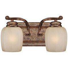 """Cornerstone Collection 12 1/2"""" Wide Patina Bath Light -   from Lamps Plus"""