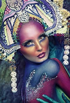 Photographing Body Paint Art