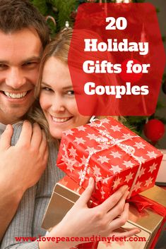 Do you need a great gift idea for a couple? Whether you need an engagement gift, an anniversary gift, a holiday gift or a just-because gift, you're sure to find the perfect present on this list of gift ideas for couples. Celebrate your favorite couple wit Couple Christmas Presents, Couple Presents, Christmas Gift Baskets, Christmas Photo Cards, Best Christmas Gifts, Couple Gifts, Christmas Fun, Holiday Gifts, Christmas Vacation