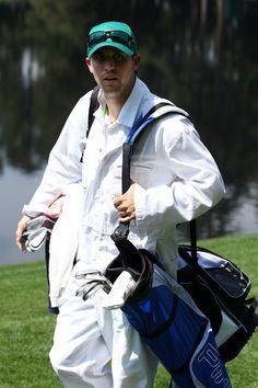 Denny Hamlin at the Masters