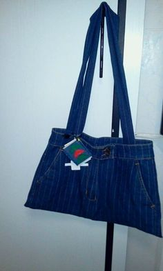 laptop bag from denim jea... by Candi Hall-Jones  price: 10,00 USD  http://www.picties.com/?option=author&author_id=119&image=296