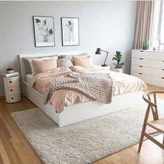 Inspiração de quarto para quem mora sozinha | via @byidaryding #morandosozinha #quarto #decoração