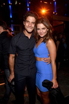 Tyler Posey and Danielle Campbell #EWComicCon
