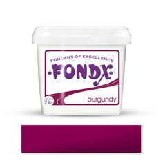 FondX Burgundy Rolled Fondant Icing perfect for cake decorating fondant wedding cakes and fondant birthday cakes and cupcakes.  FondX is the best choice of rolled fondant for cake decorating. | CaljavaOnline.com #caljava #fondx #fondant