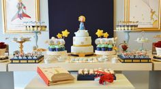 Little Prince Party with So Many Cute Ideas via Kara's Party Ideas KarasPartyIdeas.com #PrinceParty #PartyIdeas #Supplies (30)