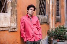 Camisas de diseño italiano..