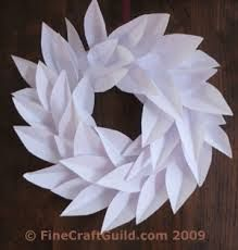 paper wreaths - Google Search