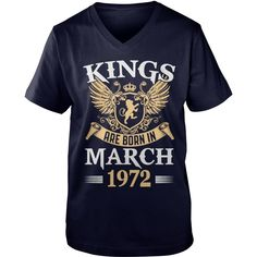 Kings Legends Are Born In March 1972 T-Shirt #gift #ideas #Popular #Everything #Videos #Shop #Animals #pets #Architecture #Art #Cars #motorcycles #Celebrities #DIY #crafts #Design #Education #Entertainment #Food #drink #Gardening #Geek #Hair #beauty #Health #fitness #History #Holidays #events #Home decor #Humor #Illustrations #posters #Kids #parenting #Men #Outdoors #Photography #Products #Quotes #Science #nature #Sports #Tattoos #Technology #Travel #Weddings #Women