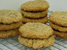 Southern Oatmeal Cookies
