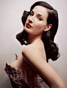 1950s hair style
