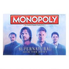 Monopoly® Supernatural Collector's Edition |  WBshop.com