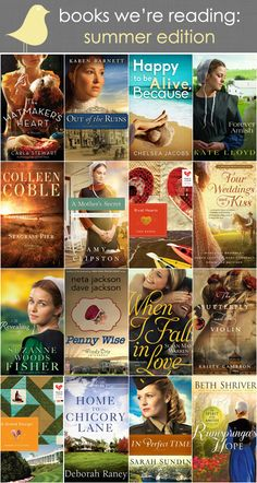 Books that my friends at Litfuse are reading this summer.