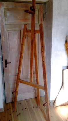 Making A Very Large Diy Easel Plans Of An Artists Easel An