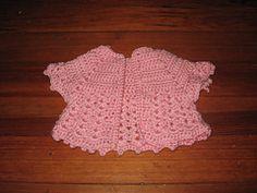 Ravelry: Little Girl's Shell Vest pattern by Suzetta Williams