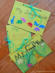 Kids Homemade The Jungle Book Craft! Kids Homemade The Jungle Book Craft! Jungle Theme Activities, Preschool Jungle, Jungle Crafts, Jungle Theme Classroom, Jungle Art, Eyfs Activities, Book Activities, Preschool Activities, Classroom Themes