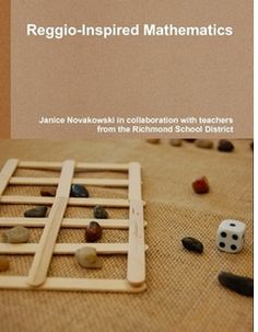 Worksheets don't Work: Try Reggio-Inspired Mathematics! photo: Reggio inspired math book cover