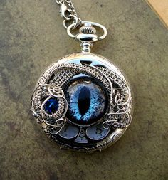 steampunk pocket watch | CUSTOM for Lady ParisRose - Pocket Watch - Steampunk Timepiece Gothic ...