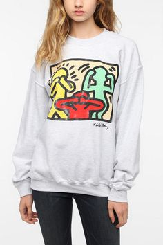 Heidi: Junk Food Keith Haring Proverbial Sweatshirt (God only knows what an Urban Outfitters large is like)