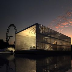 A group of Brazilian architects have sent us these images of a conceptual, mobile gallery, designed to travel along the river Thames in London. The project was developed for a competition organised by architectural agency Arquitectum, called London 2008, by a team of architects made up of Victor Paixao, Miguel Felipe Muralha, Paula Sertorio, Thiago