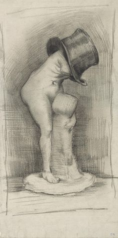 Venus in a Top Hat, 1886, Vincent van Gogh, Van Gogh Museum, Amsterdam (Vincent van Gogh Foundation)
