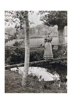 Sidonie-Gabrielle Colette, 1891 (ou 1893?) à Châtillon-sur-Loing / Châtillon-Coligny