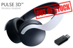 Unfortunately due to high demand, the PlayStation Pulse 3D Wireless Gaming Headset compatible with PS5 and PS4 systems will be out of stock worldwide until Q1 2021 Playstation Consoles, Playstation Games, Wireless Headset, Gaming Headset, Beats Headphones, Video Game Console, 3d
