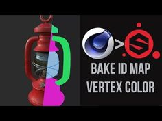 How to make Vertex Maps | Cinema 4D - ID Maps for Substance Painter - YouTube