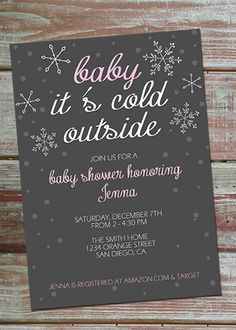 Printable Baby Shower Invitation by eflowdesigns on Etsy