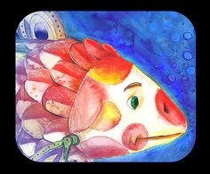Memory Fishes on Behance Watercolor Illustration, Watercolour, Behance, Memories, Illustrations, Fish, Pen And Wash, Memoirs, Watercolor Painting