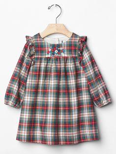 Gap | Floral flannel dress