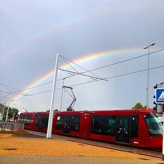 Double #rainbow Rainbow, Train, Blog, Rain Bow, Rainbows, Zug, Strollers