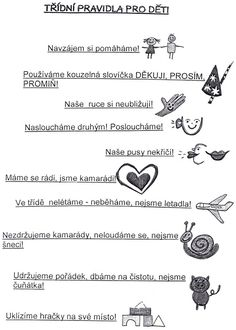 Výsledek obrázku pro pravidla v ms Preschool Worksheets, Kindergarten, Crafts For Kids, Teaching, Activities, Classroom, Education, Projects, Decor